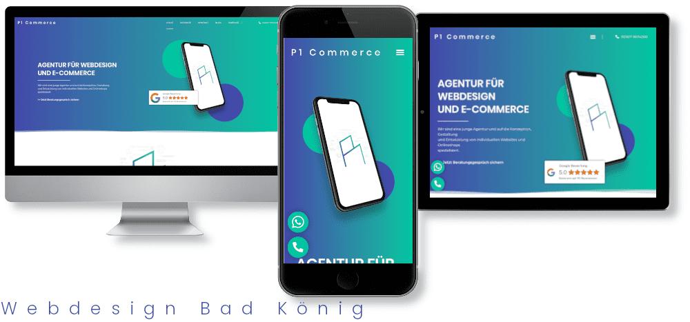 Webdesign Bad König